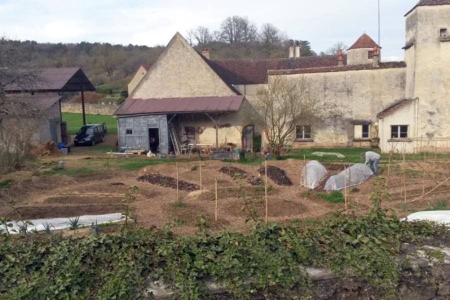 Initiation a la permaculture, travaux d'hiver : Samedi 9 et dimanche 10 octobre 2021